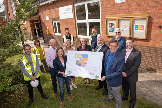 Warwick Gates Community Centre refurbishment