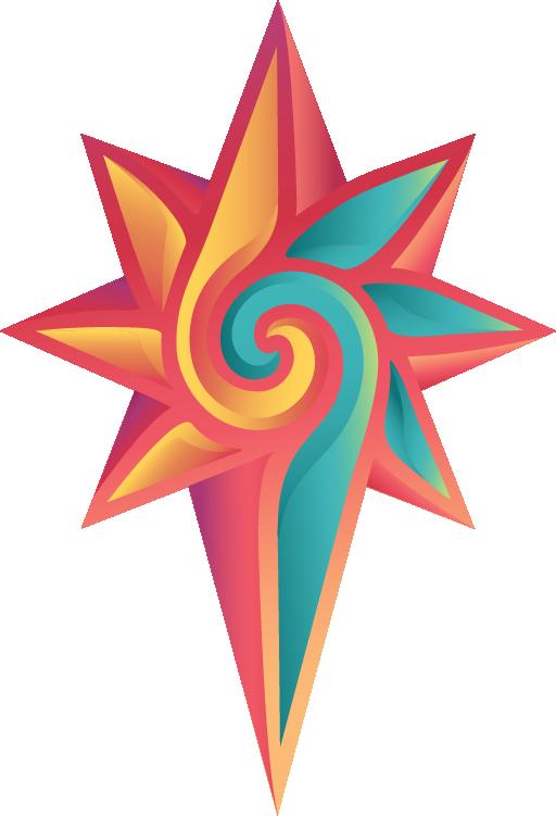 Solarpunk star logo