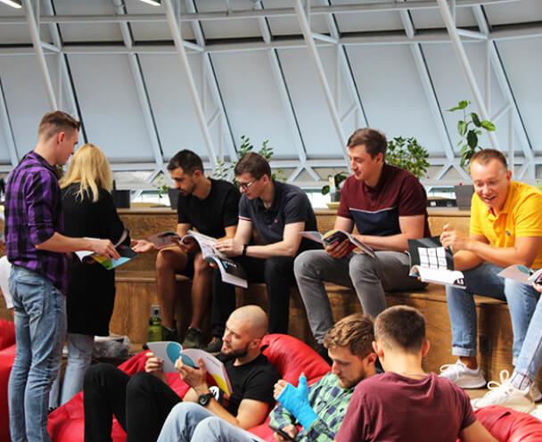 WeAreBrain Team Reading
