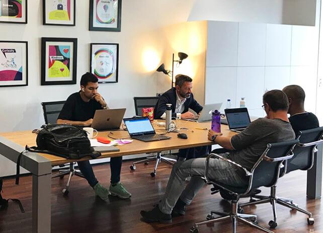 WeAreBrain Team working