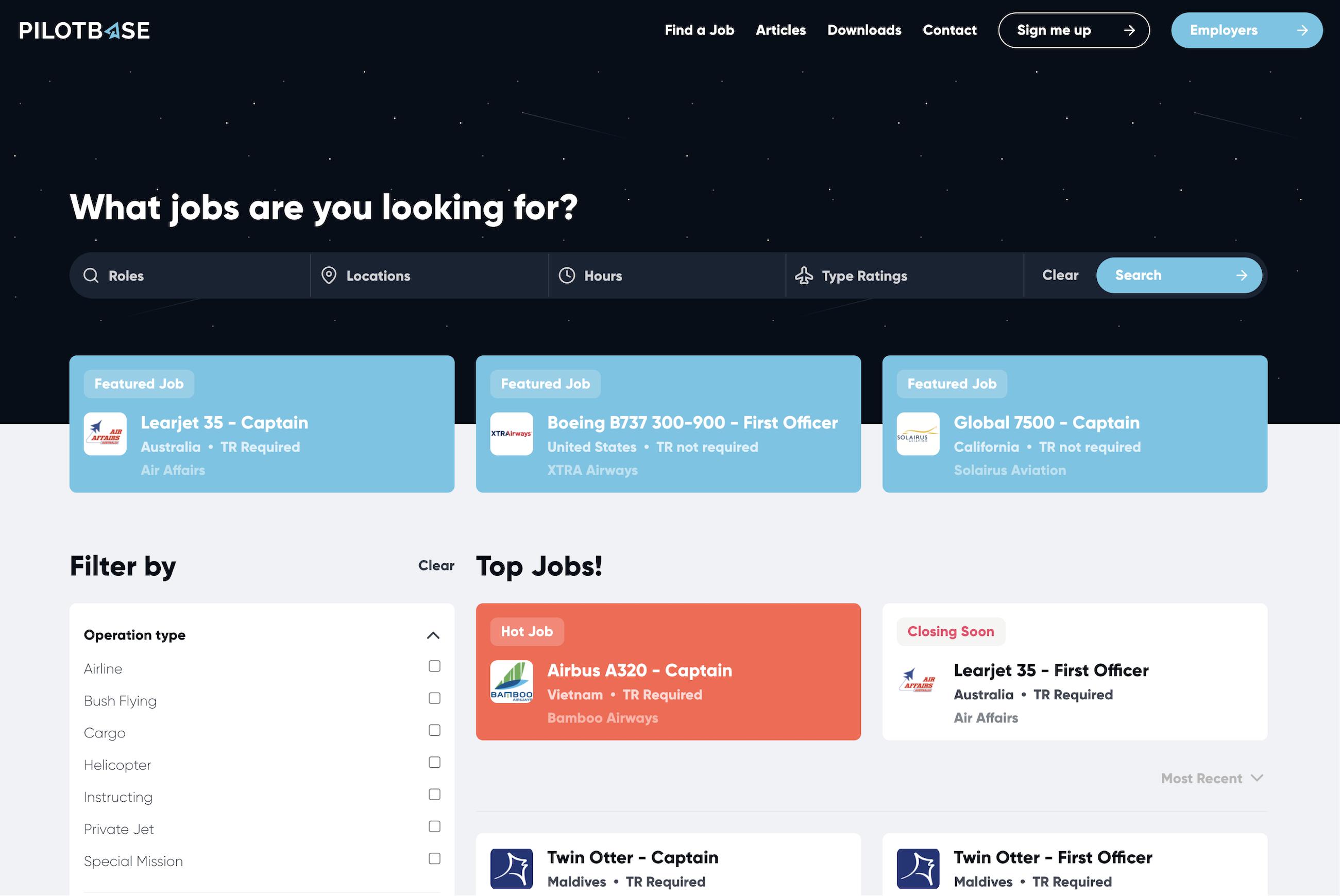 Pilotbase Jobs Page 2