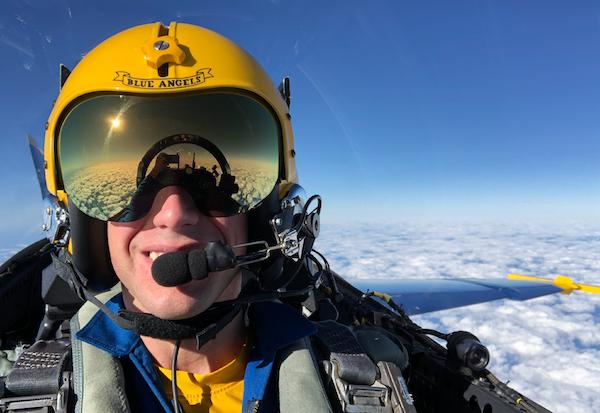 Blue Angels Flying F18 Superhornet Cockpit