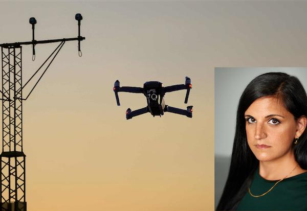 Samira Shackle Drone Journalist