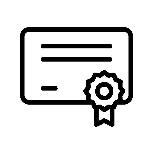 Pilot License Icon