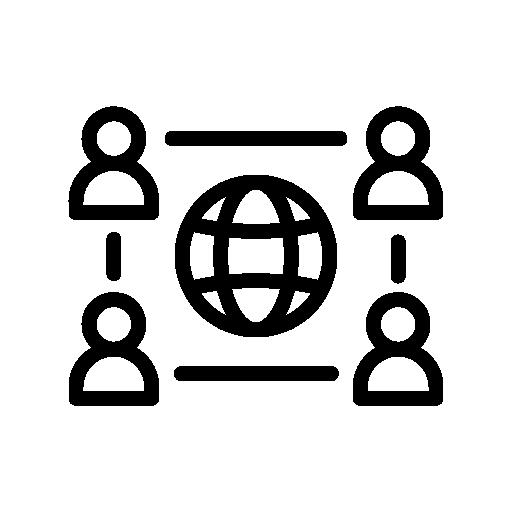 Aviation network icon
