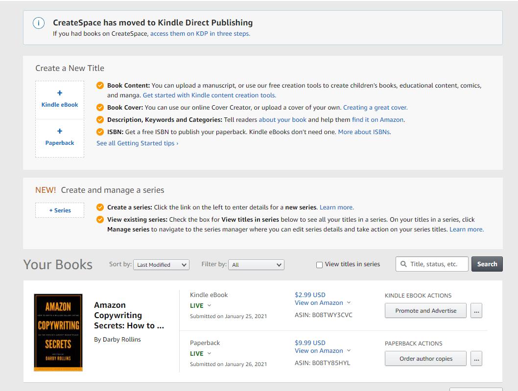 Publish your book on Amazon Kindle