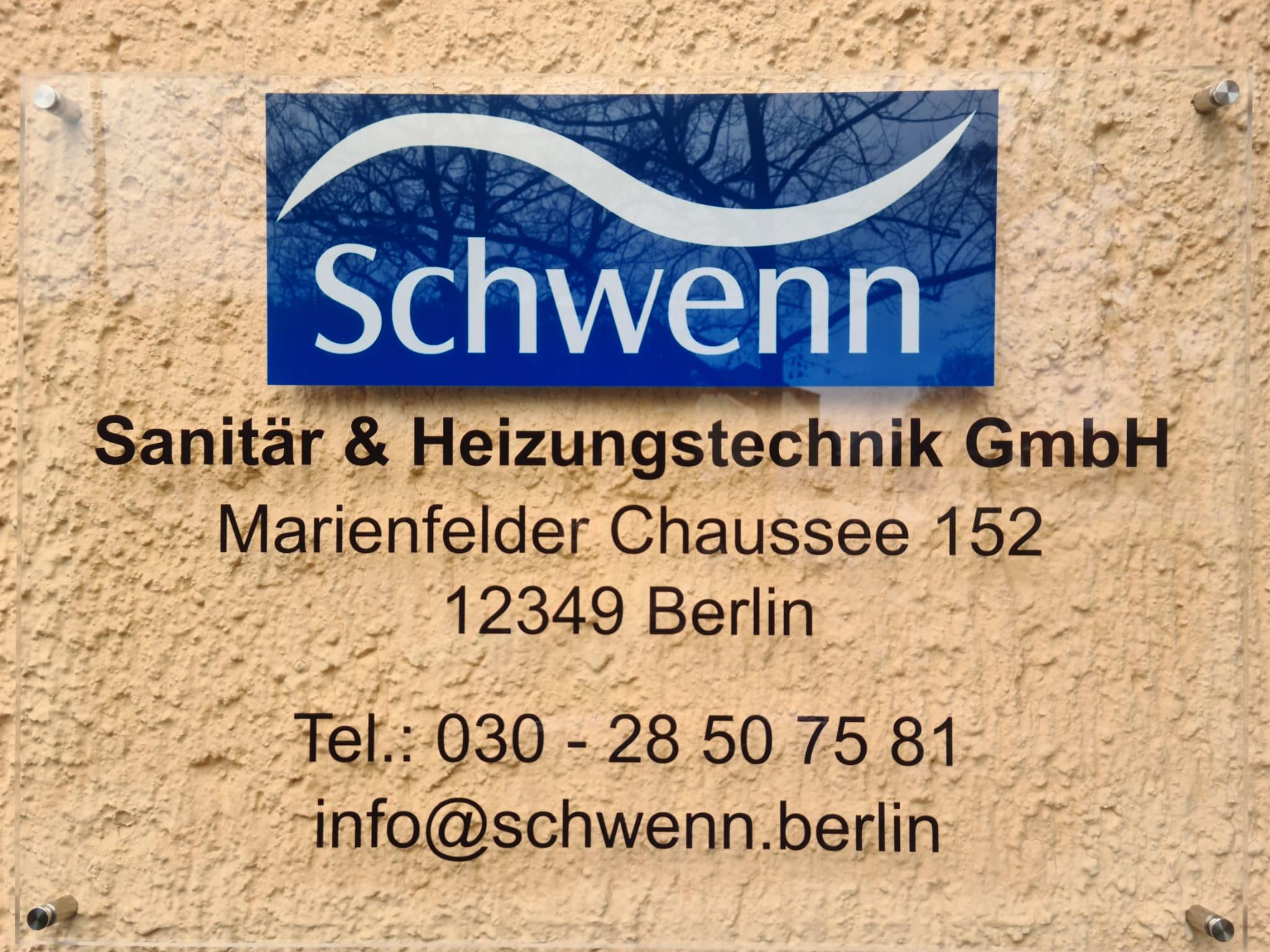 Schwenn Sanitär und Heizungstechnik Logo