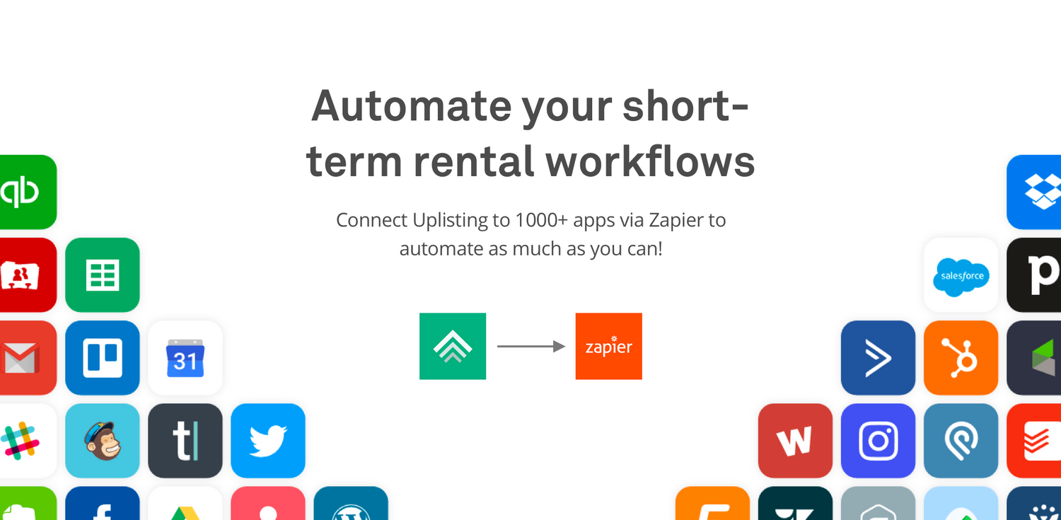Automate your short-term rental workflows with Uplisting and Zapier