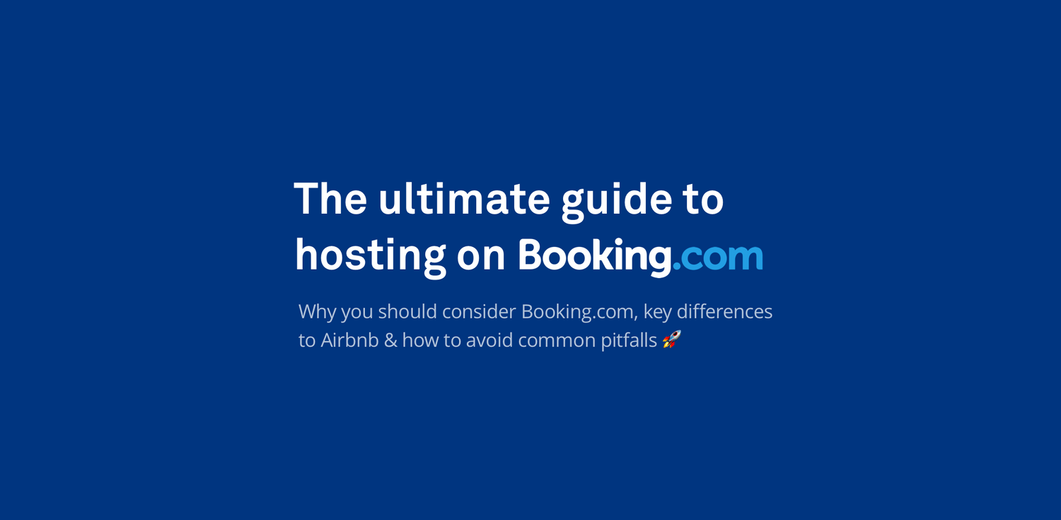 The ultimate guide to hosting on Booking.com