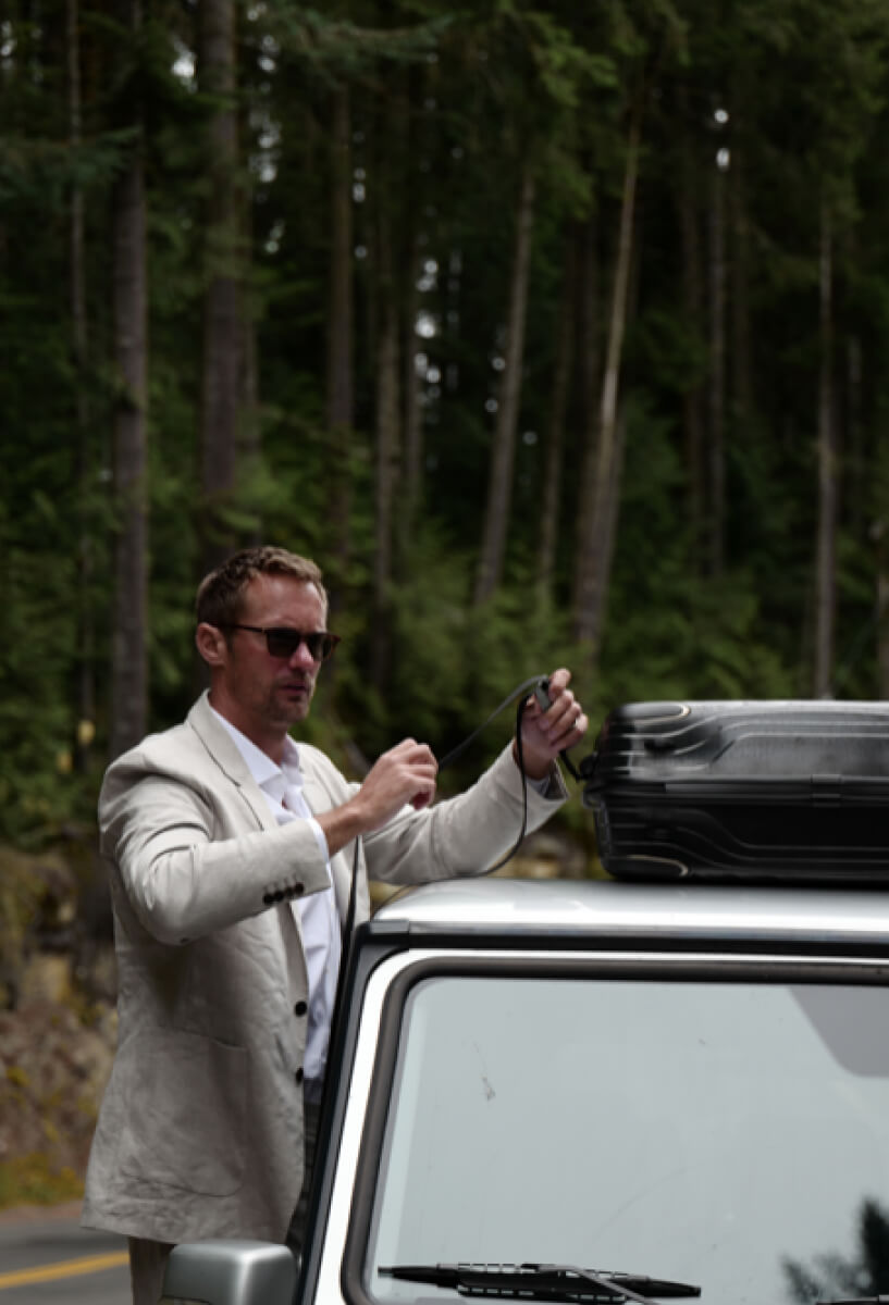 A preview image for the Tumi Latitude case study