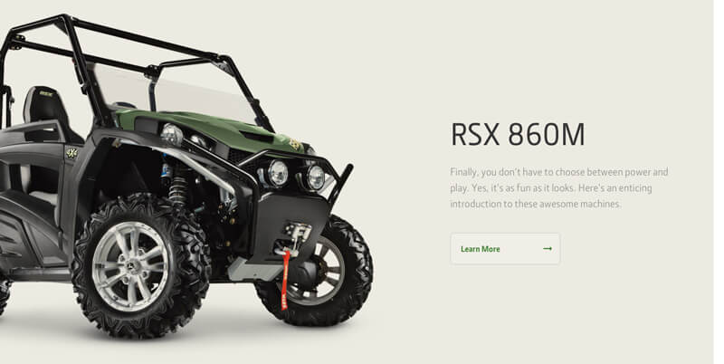 An image showing the RSX Gator model