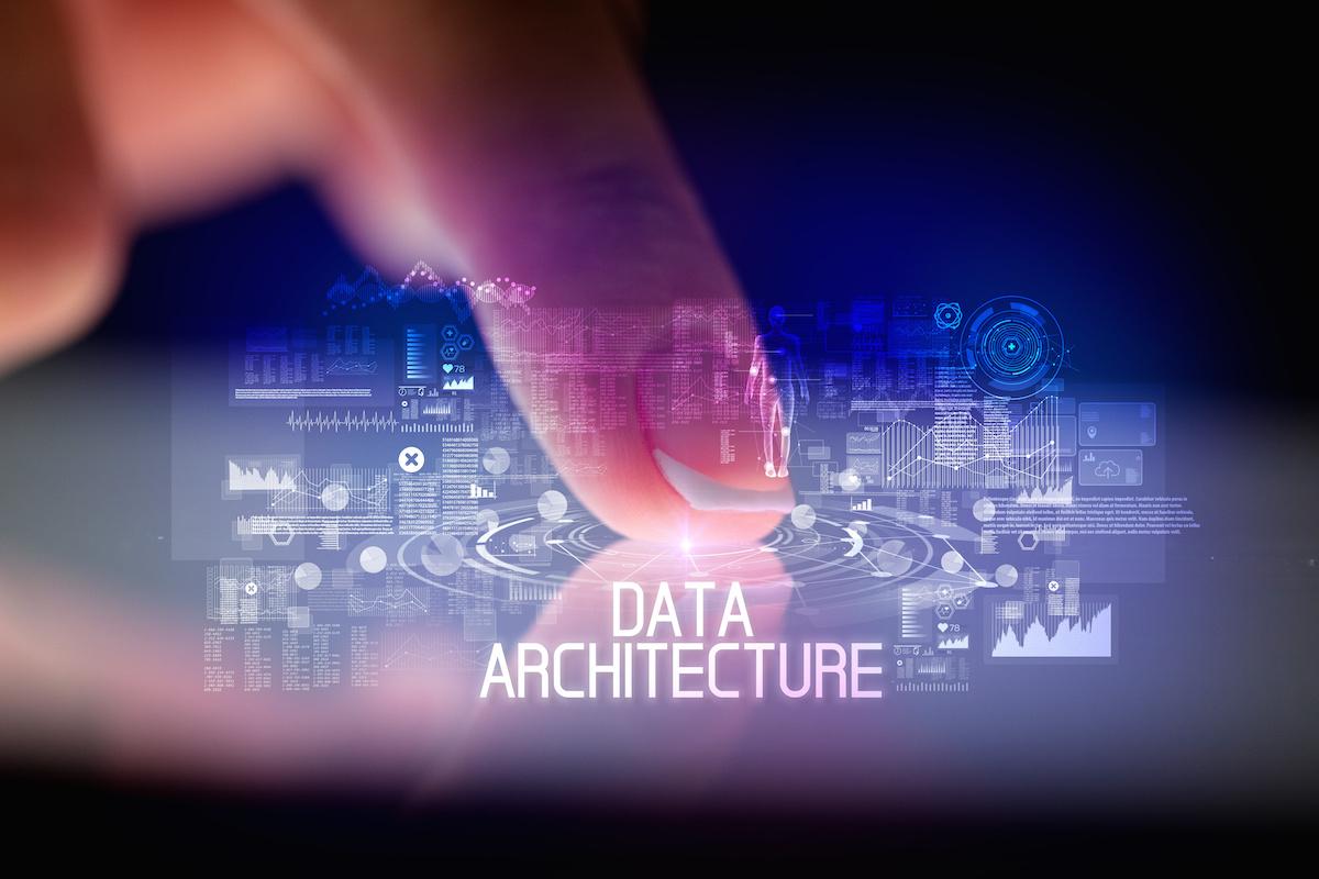 Data architecture visualization
