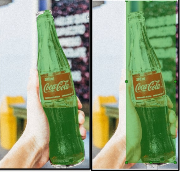 Product recognition: object detection or instance segmentation