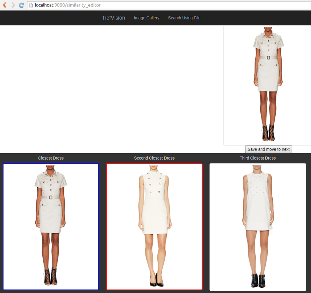 product comparison with white womens dresses