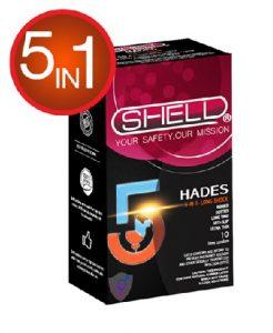 10.Bao cao su dành cho người yếu sinh lý 5 in 1 Shell Premium