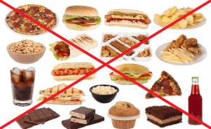 1.Tránh thực phẩm gây béo bụng