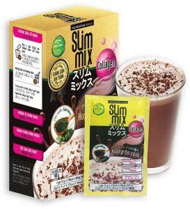 5.Slim Mix bột sữa giảm cân của người Nhật Bản
