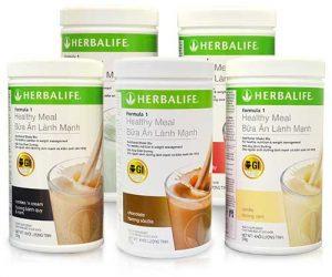 3.Sữa giảm cân Herbalife F1