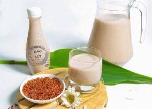 6.Sữa gạo lứt giảm cân