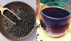 Cách nấu nước đậu đen rang giảm cân