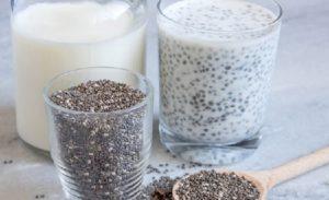 Cách uống hạt chia giảm cân với công thức hạt chia ngâm sữa