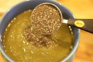 Cách giảm cân với hạt chia nấu canh, cháo, súp
