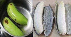 Ăn chuối xanh luộc giảm cân