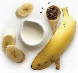 Cách giảm cân bằng chuối + hạt lanh
