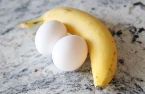 Cách giảm cân bằng chuối và trứng gà trong 3 ngày
