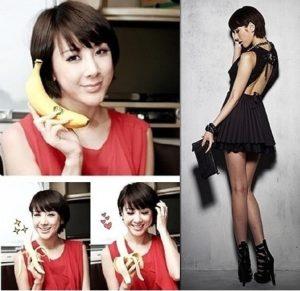 Thực đơn giảm cân bằng chuối của sao Hàn Seo In Young