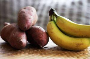 Ngày 4: Ăn khoai lang giảm cân cùng với chuối