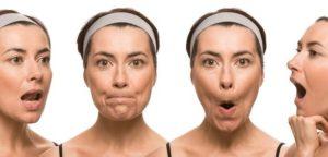 Giảm mỡ mặt khi khép và mở miệng