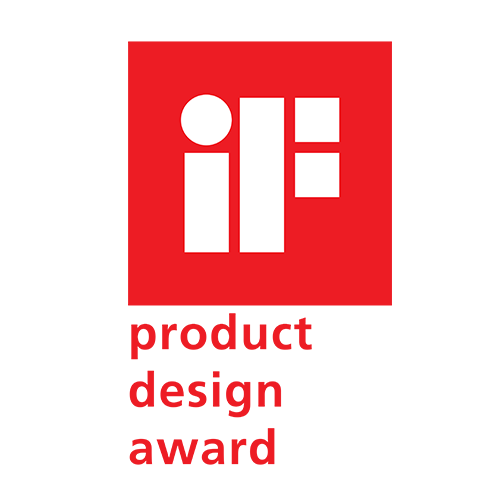I.F. Product Design award logo