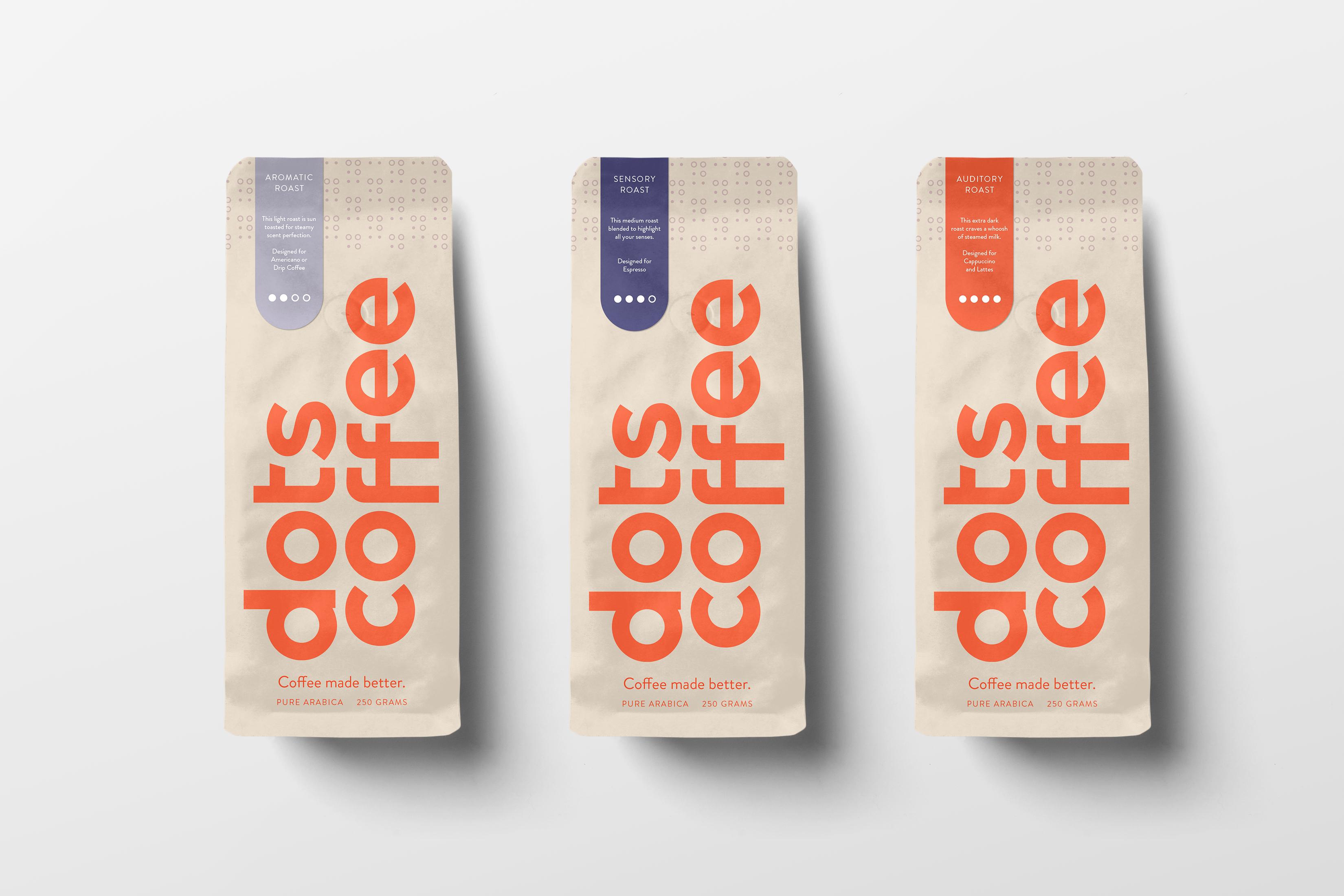 Dots Coffee bags