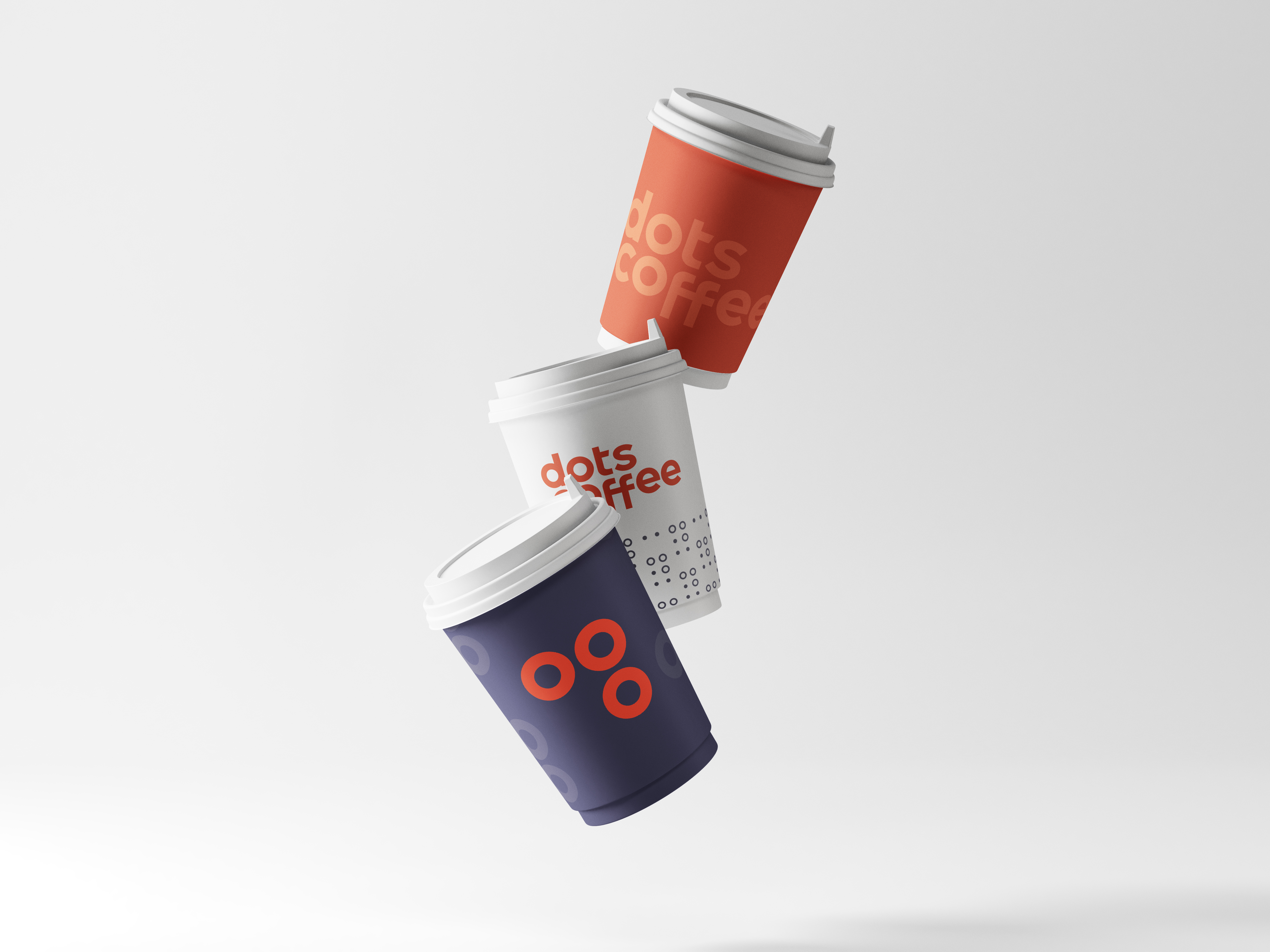 Dots Coffee cups