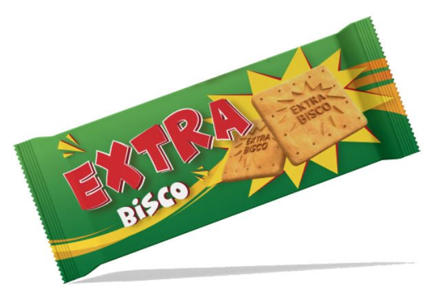 Extra Bisco - a proud local biscuit brand established in the early 90's - is a common household name, and a favorite of every child growing up in Katanga. A wholesome biscuit with a zest of citrus flavor gives it its trademark taste for which it is loved