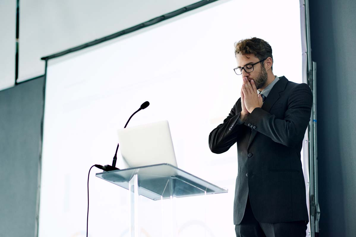 The Therapy Lounge - Business man scared of public speaking - London Hypnotherapy, NLP & CBT