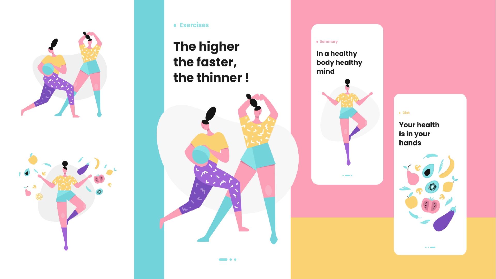 Illustration as a design trend