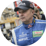 14-time Austrian Rally Champion, owner of BRR Team , Raimund Baumschlager