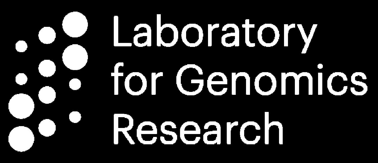 Laboratory of Genomics Research Logo