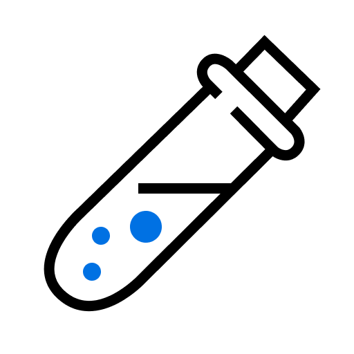 Test Tube Illustration