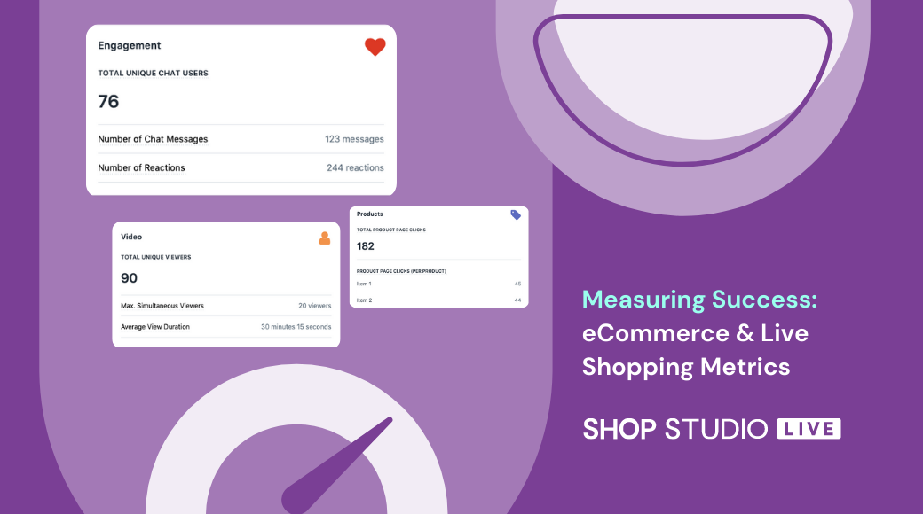 Measuring Success: eCommerce and Live Shopping Metrics You Need to Track