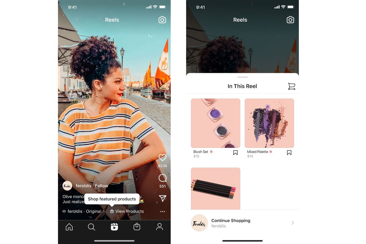 Shopping is coming to Instagram Reels globally, turning the whole app into  a catalog - The Verge