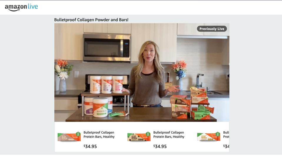 Amazon Live Video Shows Us The Future Of E-Commerce