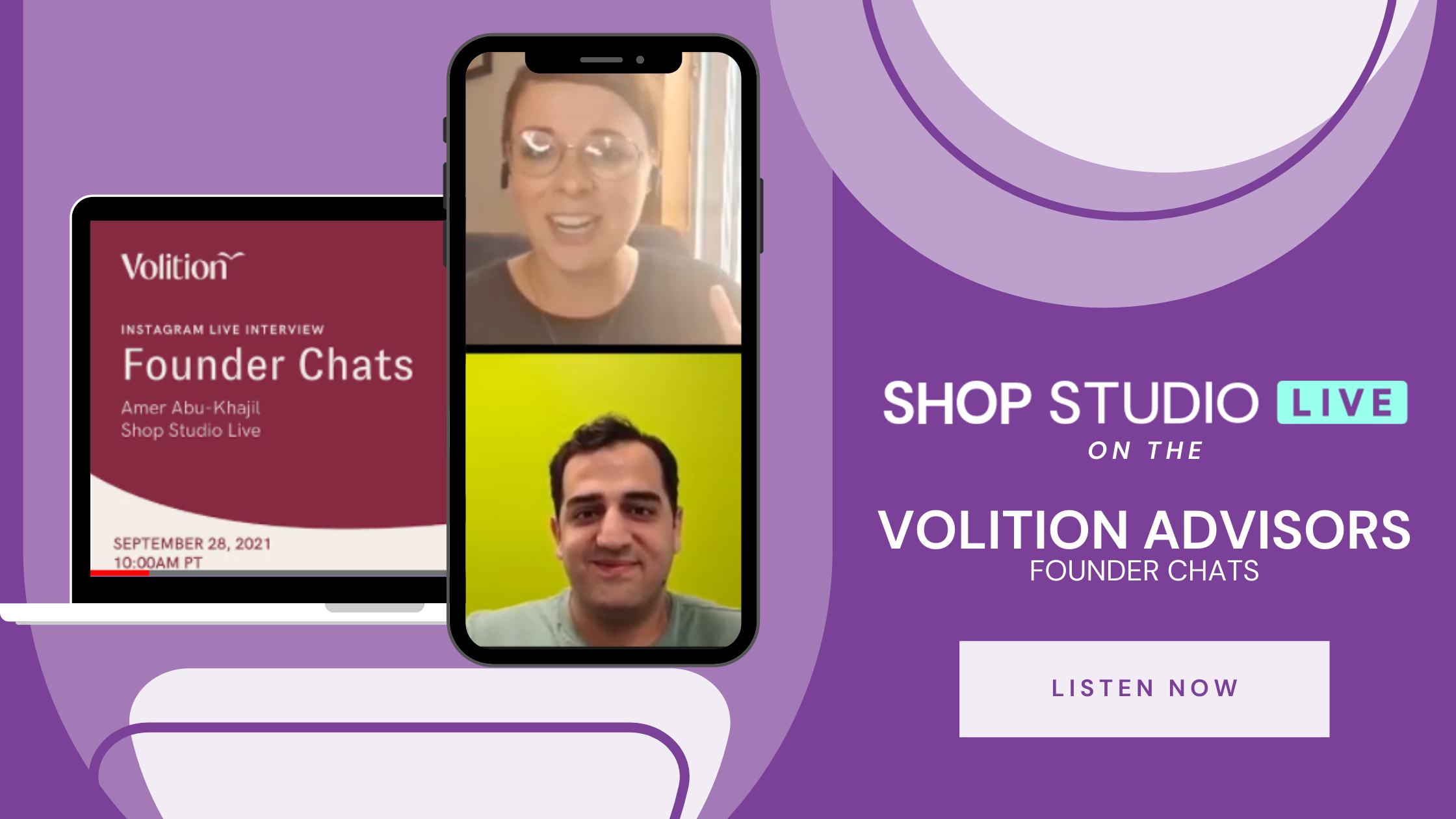 Video Podcast: Volition Advisors Founder Chats x Shop Studio Live