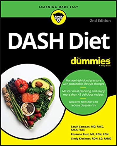 TasteOverTime - Jacqueline B Marcus - Media - Books - DASH Diet For Dummies