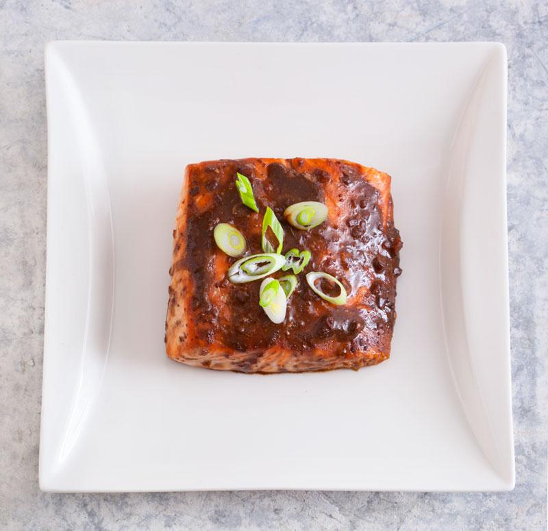TasteOverTime - Baked Salmon with Mustard Sauce Recipe