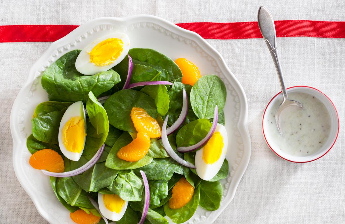 TasteOverTime Recipes - Spinach Salad