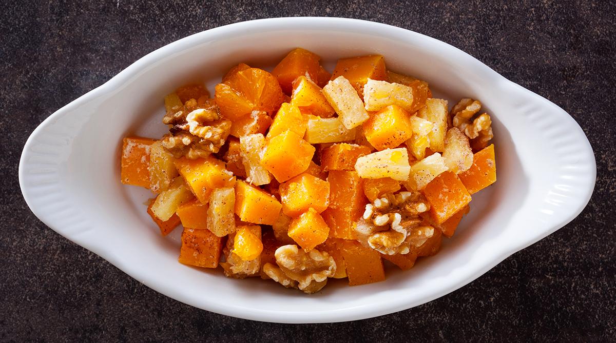 TasteOverTime Recipe - Fruit-Nut Squash