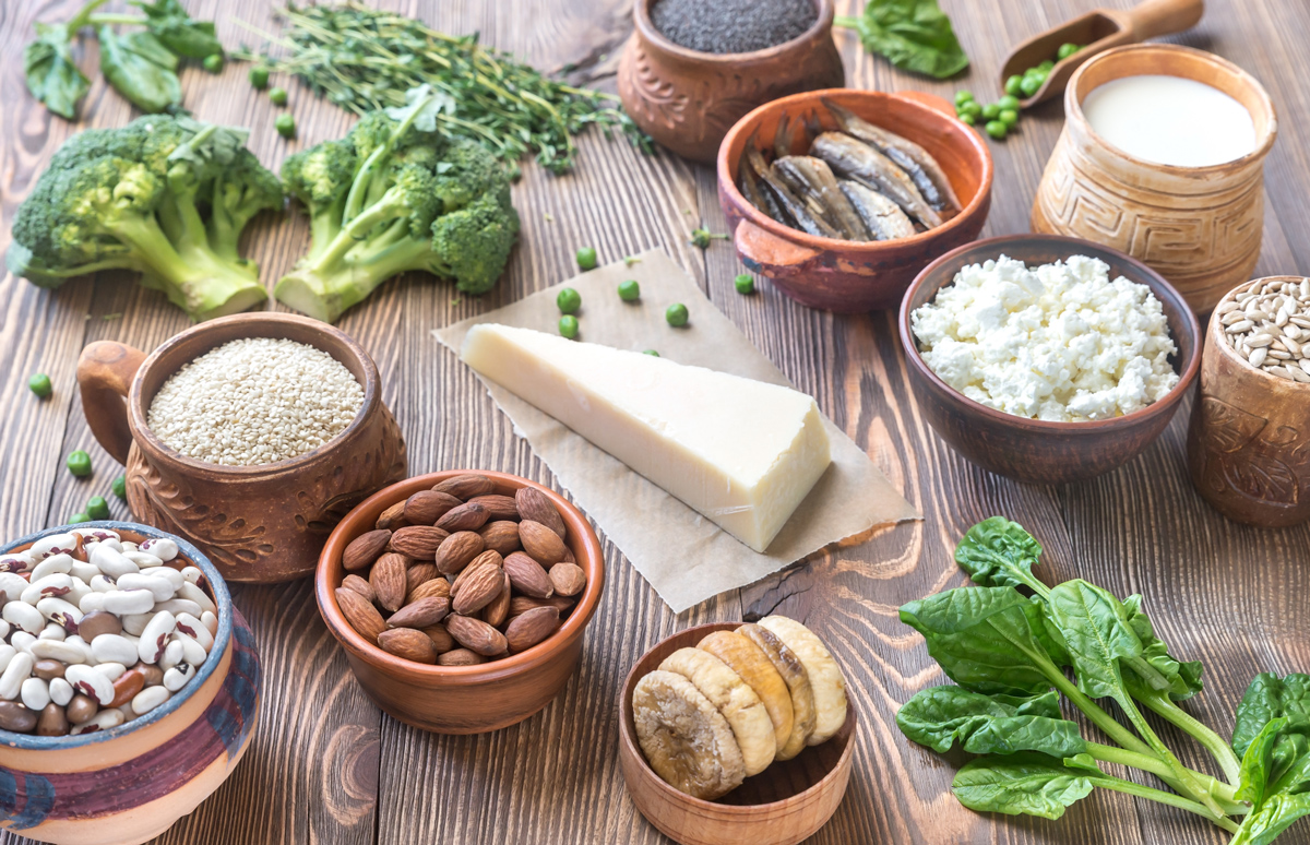 TasteOverTime Blog - Calcium Reigns for STRONG BONES!